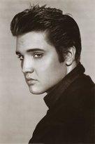 Poster Revolution Elvis Presley (Portrait, B&W) Music Poster Print - 24x36