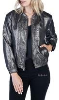 Paige Women's Rosie Hw X Kimi Bomber Jacket