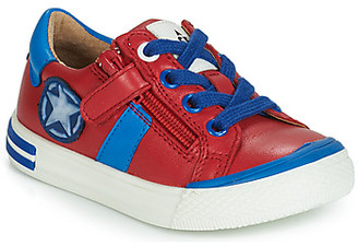 Acebo's TIMOTI boys's Shoes (Trainers) in Red
