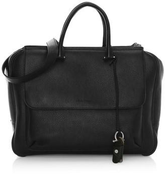 Salvatore Ferragamo Tornabouni Cervo Leather Duffle Bag