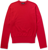 Balenciaga Oversized Cotton-Blend Sweater