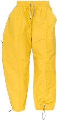 A-Cold-Wall* drawstring cotton blend track pants