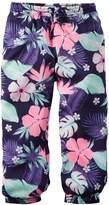 Carter's Girls 4-8 Woven Neon-Print Pants
