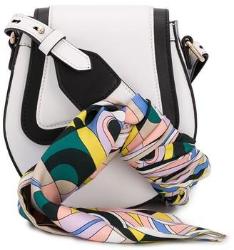 Emilio Pucci Scarf Strap Shoulder Bag