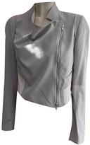 Ann Demeulemeester Grey Silk Jacket for Women
