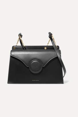Danse Lente Phoebe Leather Shoulder Bag - Black