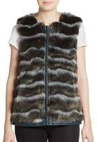 Catherine Malandrino Pepper Faux Fur Vest