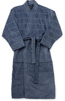 David Jones Textured Check Robe