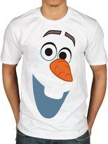 AWDIP Official Disney Frozen Olaf Face T-Shirt Snowman