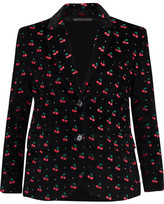 Marc by Marc Jacobs Embellished Cotton-Velvet Blazer