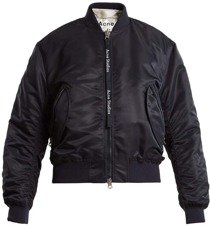 Acne Studios Clea padded bomber jacket