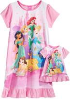 Disney Disney's Princesses Nightgown with Doll Nightgown, Little Girls & Big Girls