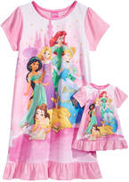 Disney Disney'sandreg; Princesses Nightgown with Doll Nightgown, Little Girls and Big Girls