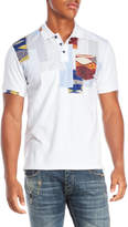 Desigual Patchwork Polo