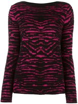 Just Cavalli patterned knit sweater