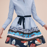 Maje Poplin shirt dress