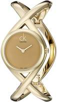 Calvin Klein Women's K2L24509 Enlace Analog Display Swiss Quartz Watch