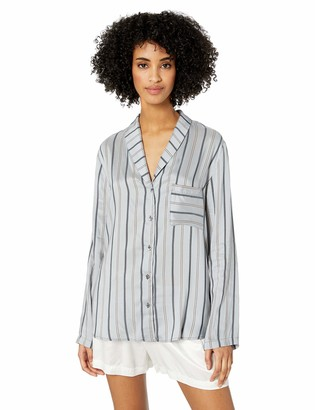 Hanro Women's Malie Woven Long Sleeve Shirt