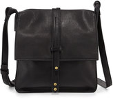 Cynthia Vincent Deliz 2 Leather Crossbody Bag, Black