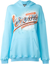 Jeremy Scott Original Cool Mint hoodie - women - Cotton - 38