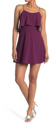 Alice + Olivia Kipp Layered Ruffled Short Dress