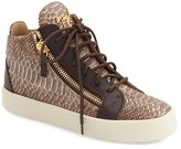 Giuseppe Zanotti Women's 'May London' High Top Sneaker