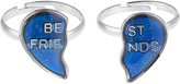 Accessorize 2x BFF Moodstone Ring Set