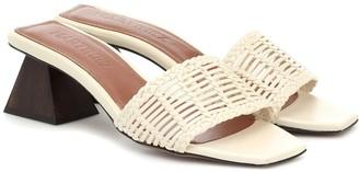 Souliers Martinez Celia leather sandals