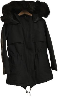 The Kooples Black Coat for Women