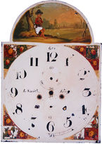 One Kings Lane Vintage Antique Hand-Painted English Clock Face