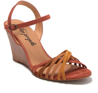 Free People Golden Hour Wedge Sandal