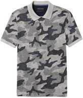 Banana Republic Slim Pique Camo-Print Polo