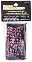 MetaGrip Black & Pink Print Bobby Pins