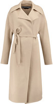 Rochas Belted Wool And Angora-Blend Coat