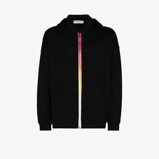 Givenchy Gradient rainbow zip hoodie