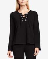 Vince Camuto Lace-Up Top