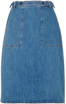 MiH Jeans Juno Denim Midi Skirt