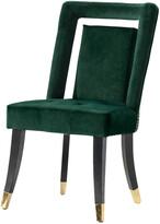 Chic Home Set Of 2 Elsie Green Dining Chairs