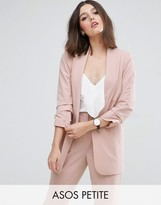 Asos Mix & Match Blazer with Rouched Sleeve