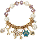 Betsey Johnson Betsey Gifting Doggy Stretch Bracelet