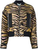 Kenzo 'Tiger' bomber jacket - women - Silk/Cotton/Acrylic/Wool - XS