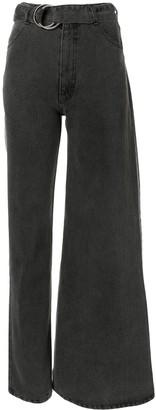 Ksenia Schnaider Asymmetric Design Jeans