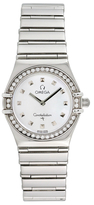 Omega Vintage Constellation My Choice Stainless Steel & Diamonds Watch, 25mm
