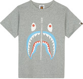 A Bathing Ape Shark cotton T-shirt 4-8 years