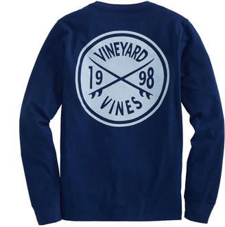 Vineyard Vines Boys Surf Crest Long-Sleeve Tee