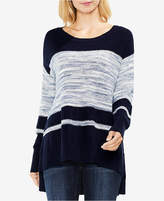Vince Camuto Colorblocked Tunic Sweater