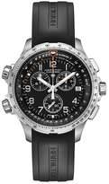 Hamilton Khaki Aviation X-Wind Chronograph GMT Silicone Strap Watch, 46mm