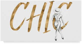 "Grace Popp Gilded Fashion Figures I Canvas Art - 20"" x 25"""