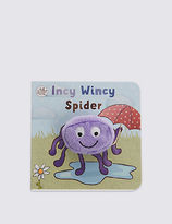 Marks and Spencer Finger Puppet Incy Wincy Spider