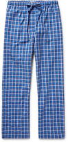 Derek Rose - Ranga Checked Brushed-cotton Pyjama Trousers